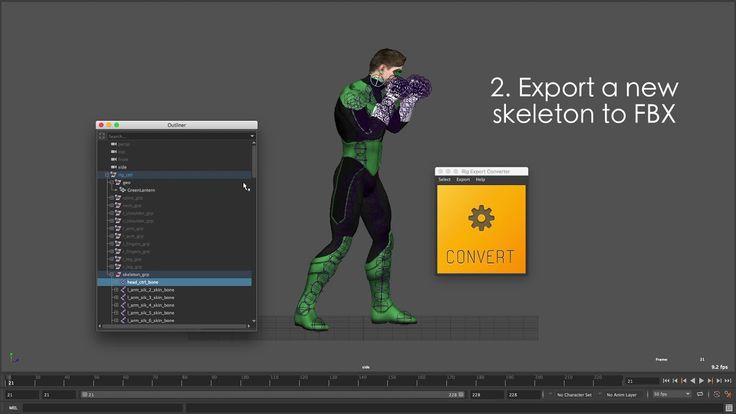 Using Rig Export Converter you can exchange animation data and complex character rigs between Maya and game engines (Unity, Cry Engine, etc.).export complicated individual rigs and animation.