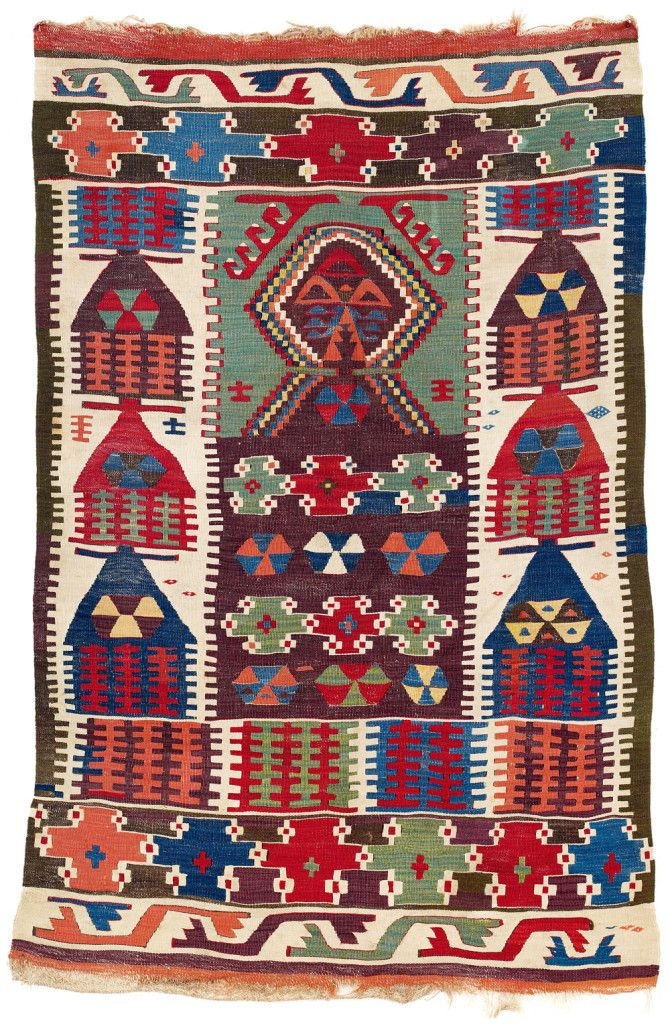 Kilim West Central Anatolia Mid 19th C