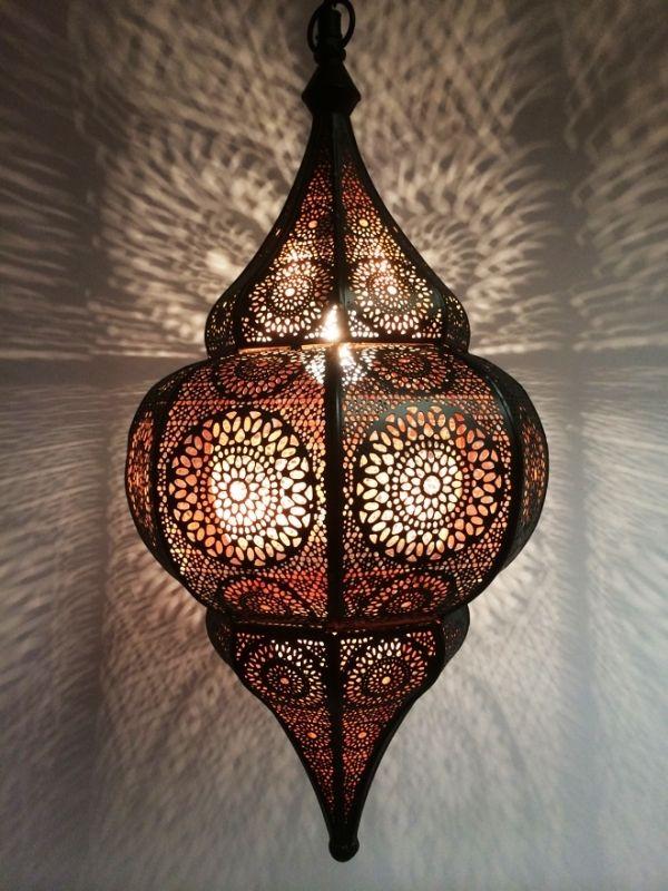 Orientalische Indische Lampe Deckenlampe Malhan