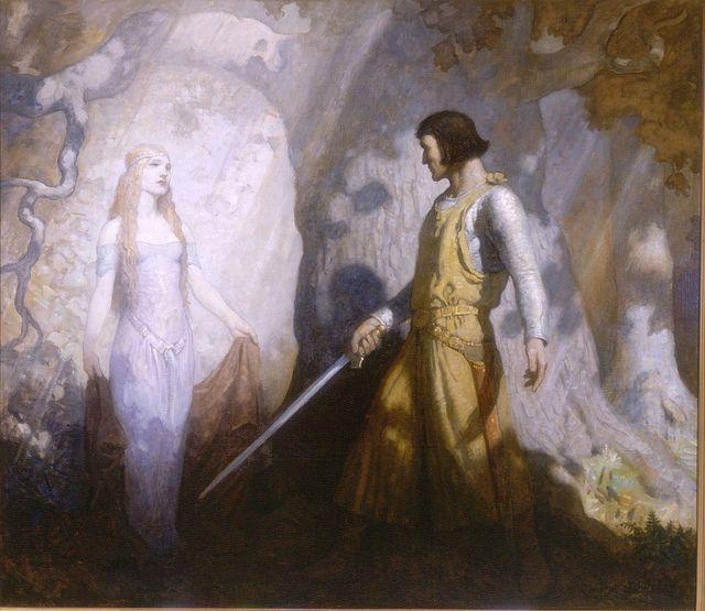 The King's Henchmen - N.C.Wyeth 1927