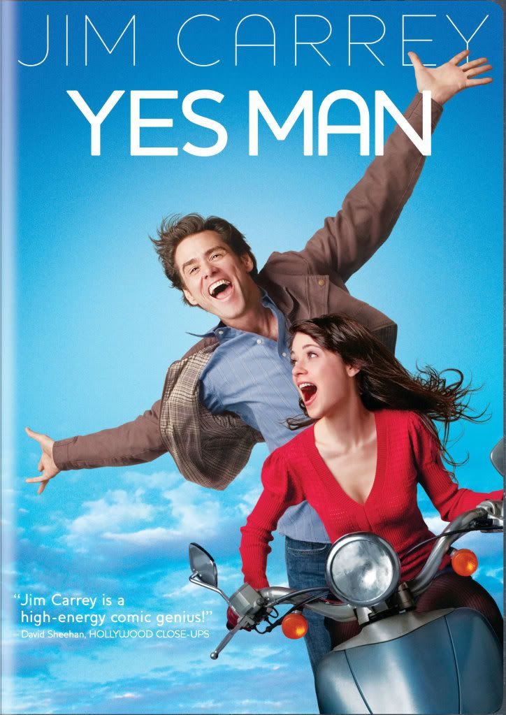 Yes Man, cute movie and the very first movie I saw with my man in our first date :)