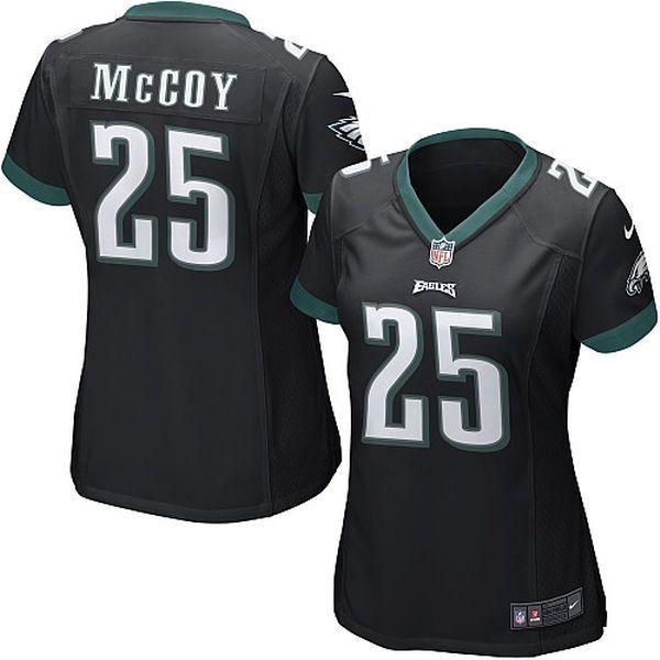 LeSean McCoy Philadelphia Eagles Nike Women's Game Jersey – Black - $47.99