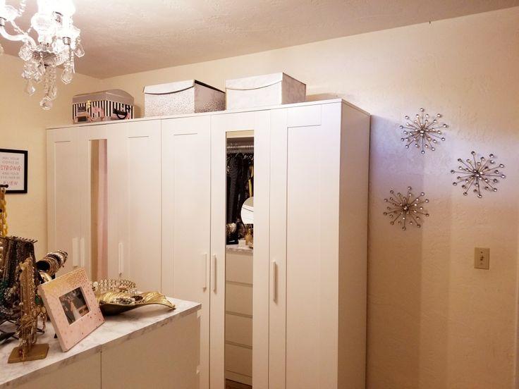 die besten 25 brimnes kleiderschrank ideen auf pinterest schlie fachdesigns kleiderschrank 3. Black Bedroom Furniture Sets. Home Design Ideas