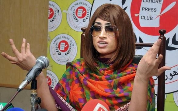 Pakistani social media celebrity Qandeel Baloch was strangled to death by her brother, police said Saturday.