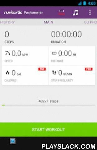 Runtastic Pedometer Step Count  Android App - playslack.com , How many steps do you take each day? Count your steps with the free Runtastic Pedometer & Step Counter app for Android and find out how many calories you burn or which distance you cover each day. Start your personal step counter on your phone with just one click - it's as easy as that!PEDOMETER APP FEATURES & BENEFITS: (limited in LITE version)* Automatic step counter detection (no matter where your phone is stored – pockets…
