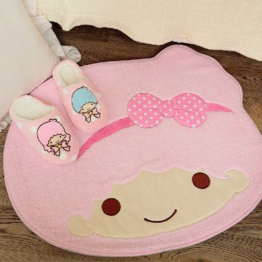 Aliexpress.com : Buy 70*62 cm Kawaii Little Twin Star Cartoon Floor Mat Pad Doormats Non slip Indoor Mat Retail SS1 from Reliable mat floor suppliers on House of Novelty: