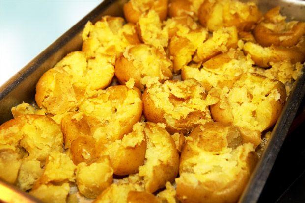 Bruten potatis