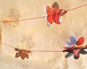 Paper garland: A Christmas Carol and The Christmas Bunny
