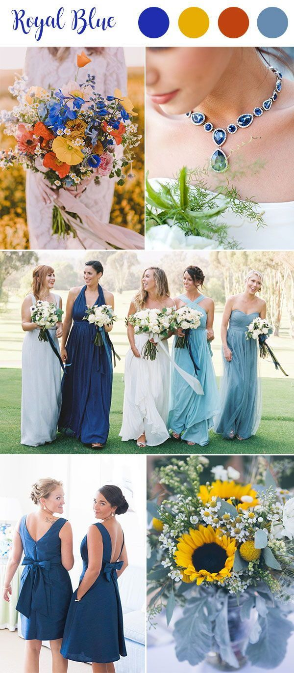 9 Most Popular Blue Wedding Color Palettes For Your Big Day