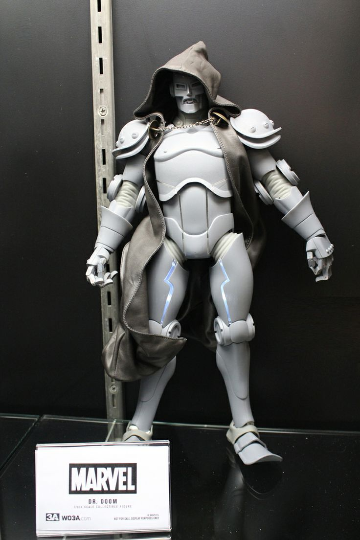 3A by Ashley Wood X Marvel Dr Doom 1/6 Action Figure