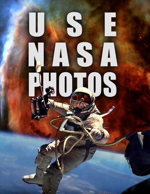 Use NASA Photos Free!  Did you know that NASA makes a large collection of images available for Royalty Free use to the general public? That's quite an opportunity. Here's some ideas, and a look at what that could mean to you exactly. And not just photos, but their videos, 3D renders and models, and sounds!