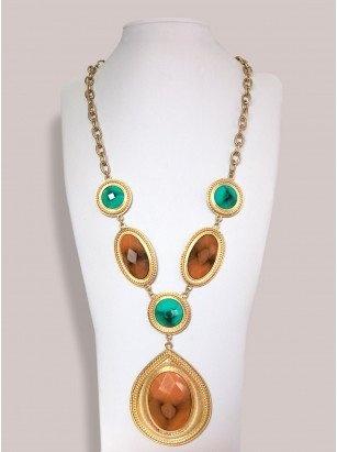 Milania Necklace in Multi by Igigi