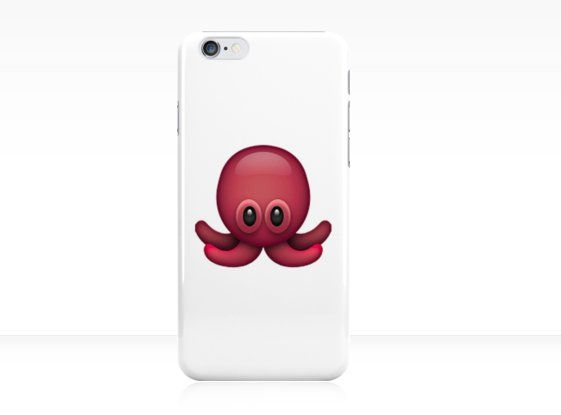 Pin for Later: Emoji Phone Cases That'll Put a Fat Smile on Your Face  Octopus Emoji Phone Case ($26)