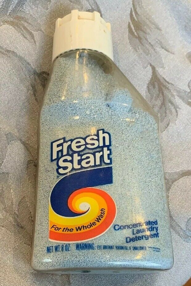 Vintage 1980 S Fresh Start Concentrated Laundry Detergent Power 8