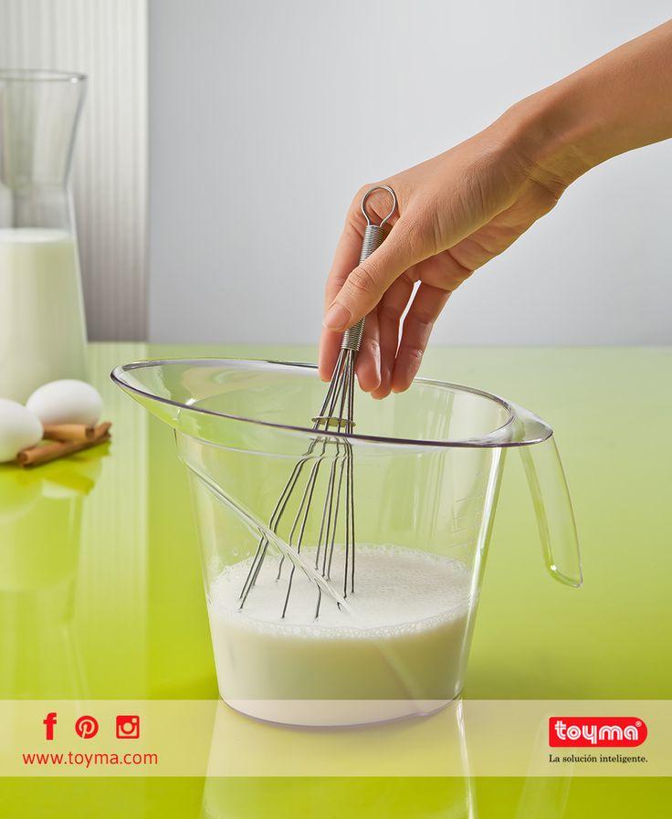Utensilios prácticos para #cocinar ➡ Jarra Medidora Nuestra jarra está fabricada con materias primas de alta calidad y tienen una capacidad de 1400ml #Toyma #fabricante #cocina #jarra #cook #pitcher