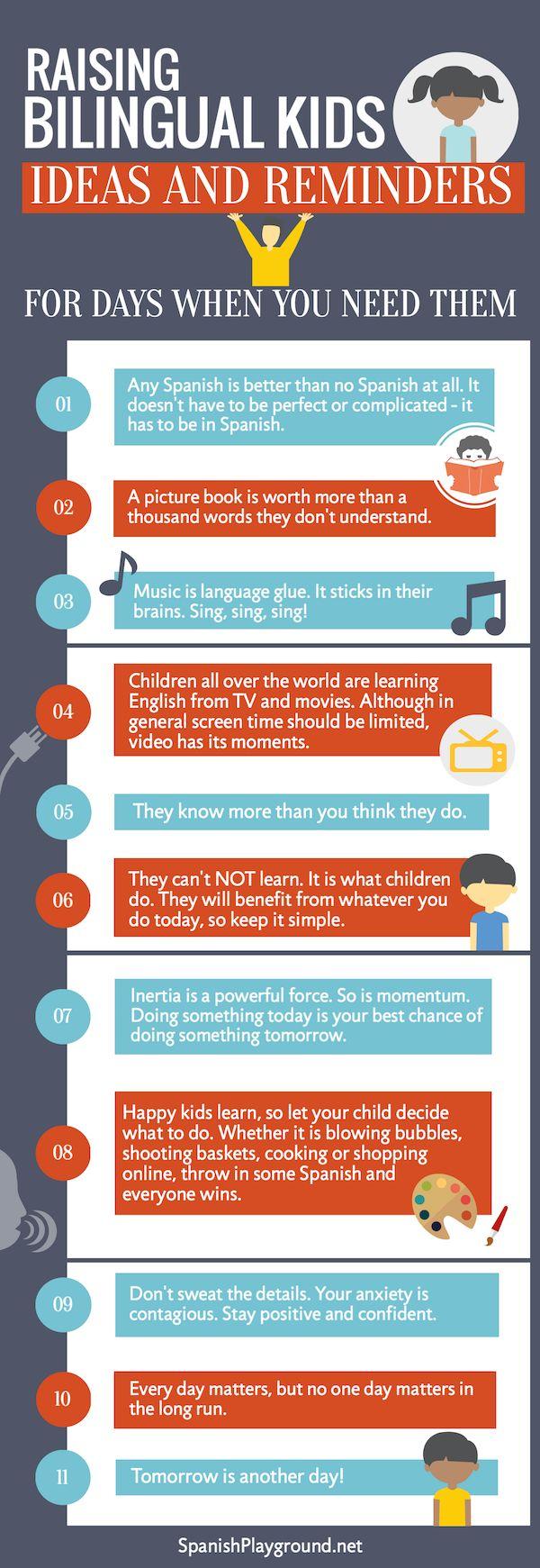 Raising bilingual kids? 11 truths to keep in mind on the hard days. http://www.spanishplayground.net/teaching-kids-spanish-hard-days/ … #langchat