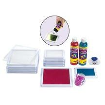 Discount School Supply - Liquid Watercolor™ Blank Stamp Pads - 6 Pieces