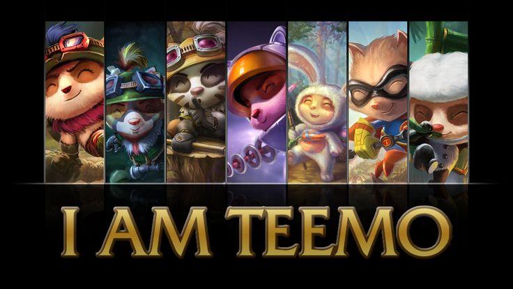 Teemo Wallpaper. | League of Legends | Pinterest | Legends ...