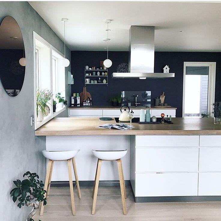 """Gefällt 1,827 Mal, 6 Kommentare - @interior_delux auf Instagram: """"Such a great kitchen @kristinekval #kitchen #kitchendesign #kjøkken #interior_delux"""""""