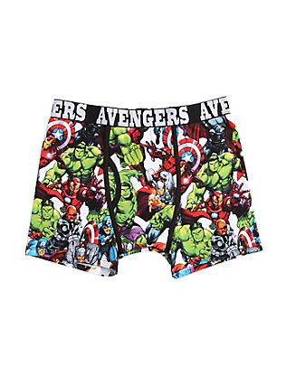 Marvel Avengers Boxer Briefs, I'm probably a large Kassey lol