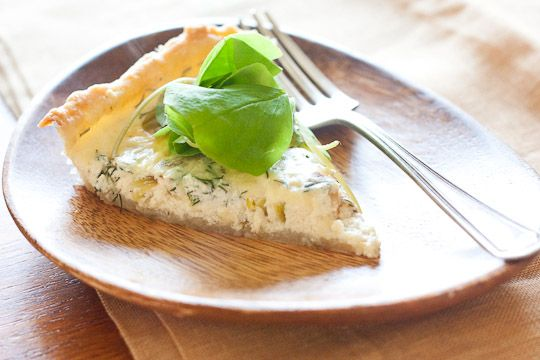 spring quiche with leeks and sorrel. . . haven't seen sorrel at the ...