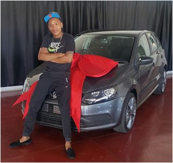 Mr VB Vogt taking ownership of his Vw Polo Tsi! #AnotherSuccessfulDelivery  #motorman #cars #nigel #drive #vw #polo www.motorman.co.za