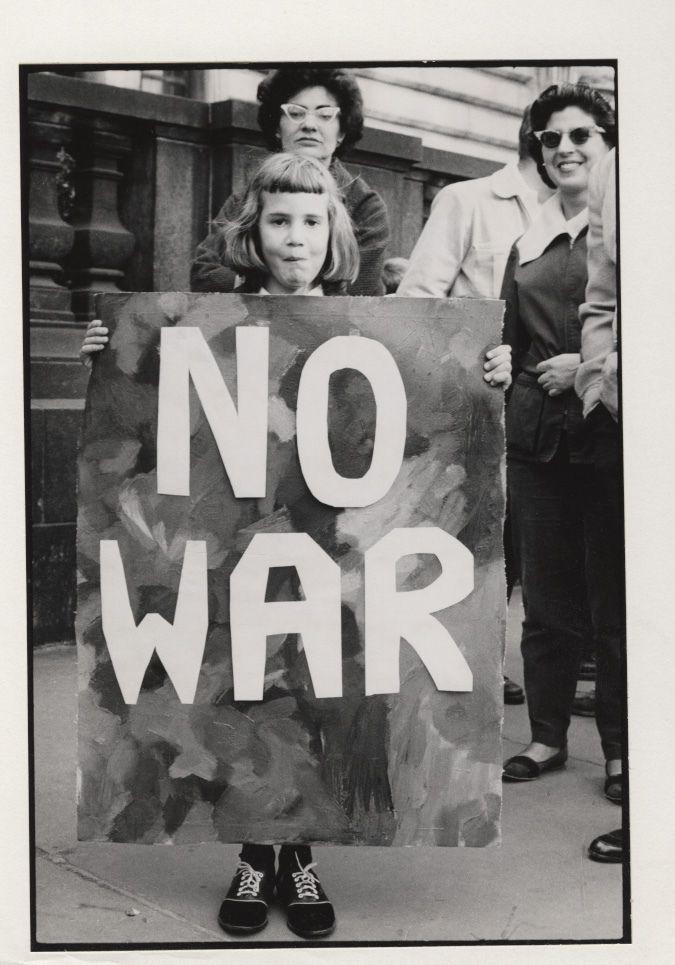 Cuban missle crisis demonstration (New York, N.Y.): No War… | Flickr