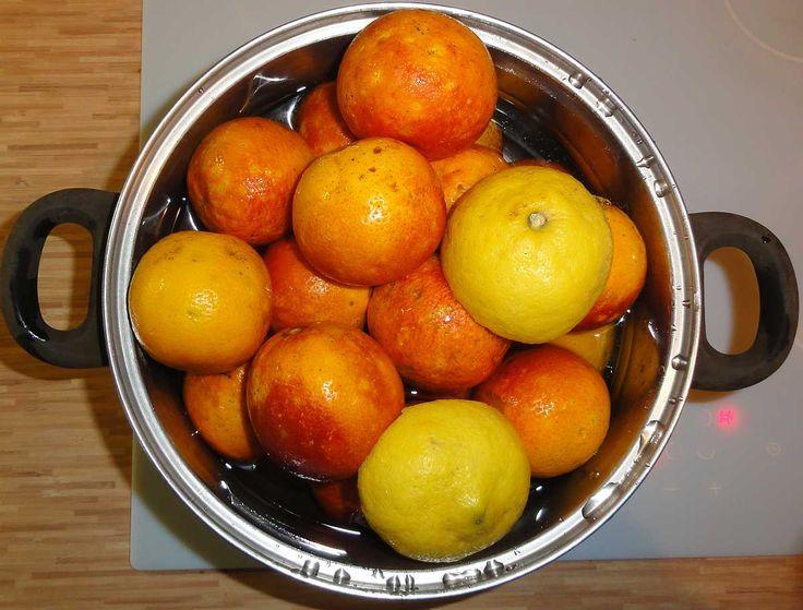 Jak uvařit staroanglickou pomerančovou marmeládu   recept