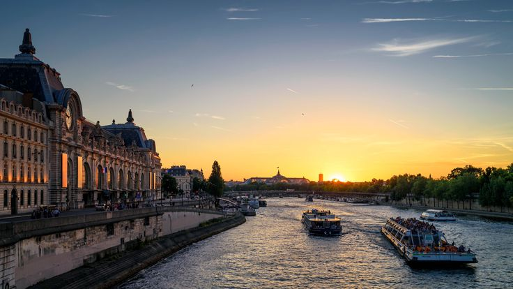 Romantic Sunset In Paris Uhd  #In #Paris #Romantic #Sunset #Uhd