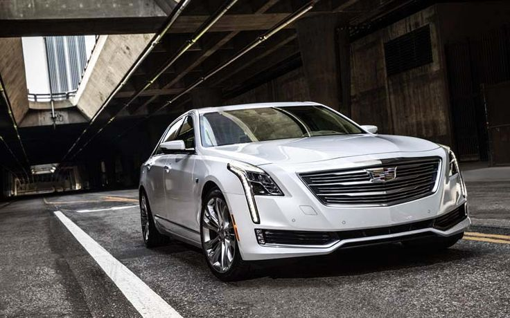 2017 Cadillac CT6 overview