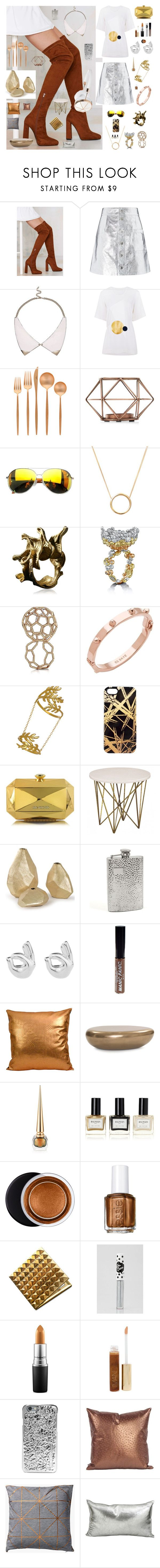 """FRACTAL AGREEMENT"" by anna-pensky ❤ liked on Polyvore featuring Jeffrey Campbell, Coperni Femme, River Island, Surreal But Nice, Cutipol, Givenchy, Lee Renee, ALESSANDRO DARI, CC SKYE and Seraphina"