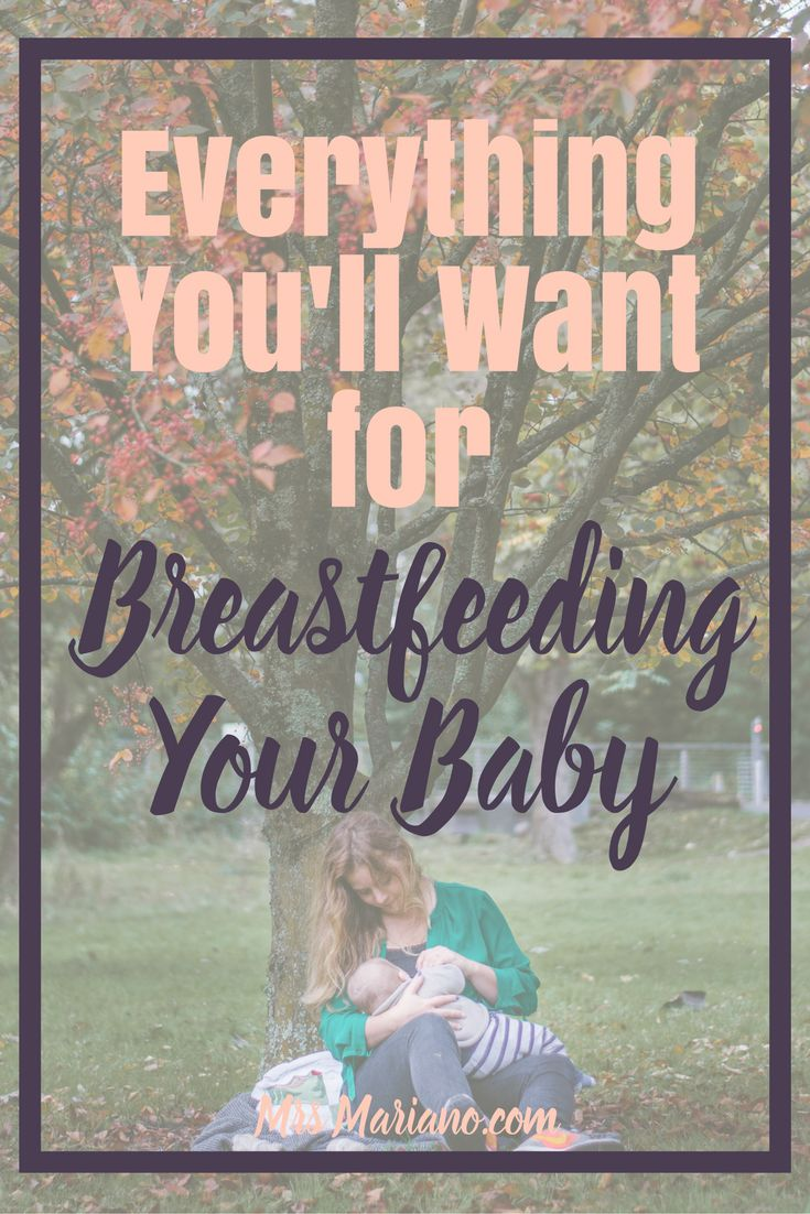 Wondering what you'll want when you start breastfeeding your baby? If you are planning to breastfeed your little one, this post is full of all the breastfeeding supplies you don't want to miss!