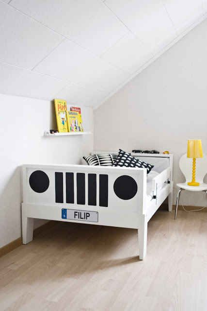 into a Jeep.   15 Ikea Hacks For Your Child's Dream Bedroom