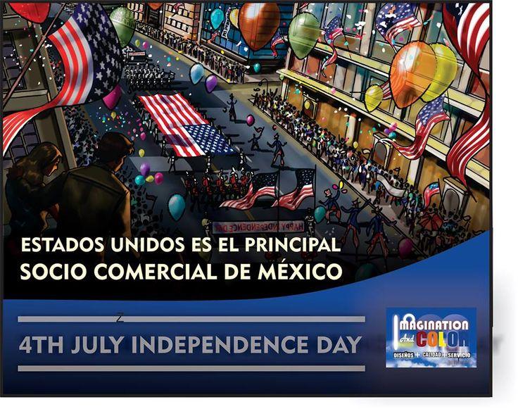"""4th de Julio Día de la Independencia USA """"LIBERTAD E IGUALDAD""""  El Día de la Independencia de los Estados Unidos (Independence Day o The Fourth of July en inglés) es el día de fiesta nacional que se celebra el 4 de julio en los Estados Unidos. Este día marca la firma de la Declaración de Independencia en 1776 en la cual : https://www.facebook.com/photo.php?fbid=469592963143500&set=pb.322809211155210.-2207520000.1404973376.&type=3&theater"""