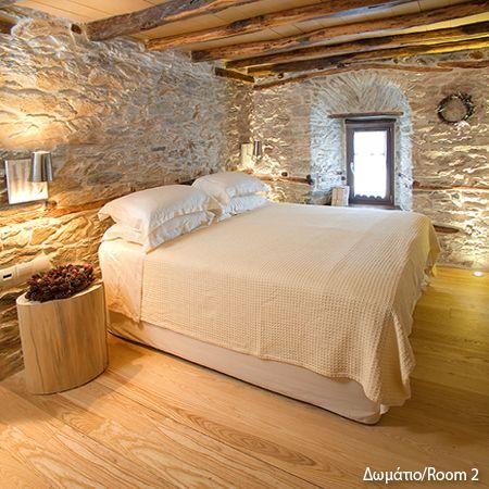 "Room at ""Mountain's Secret"" in Mouresi village, Pelion mountain   http://www.mountainsecret.gr/"