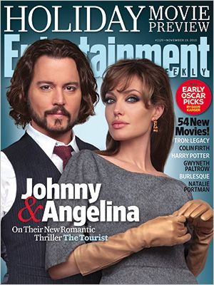 Angelina Jolie. Johnny Depp. They're two of the biggest stars on the planet and, believe it or not, they'd never met before making The Tourist.