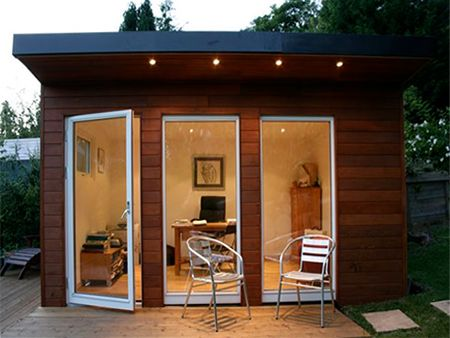 garden shed home office ideas