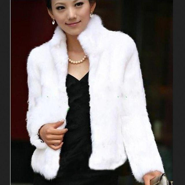 2015 New Sale Rabbit Fur Coat Winter Real Rabbit Fur Jacket High Stand Collar Rabbit Fur Outwear US $65.99-75.99 /piece click the link to buy http://goo.gl/YJxPC6