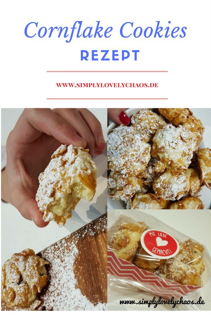 So backst du ganz einfach die sehr leckeren Cornflake Cookies. #rezept #anleitung #backen