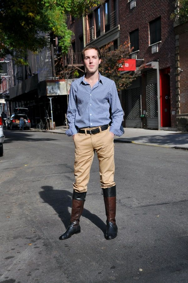 Tall boots as street style  0c4ef033c