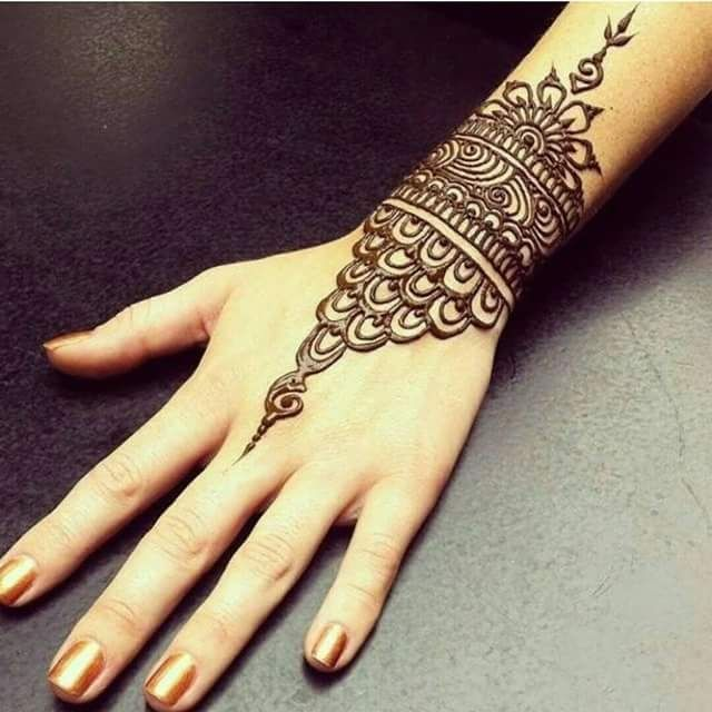 1000+ Ideas About Easy Mehndi Designs On Pinterest