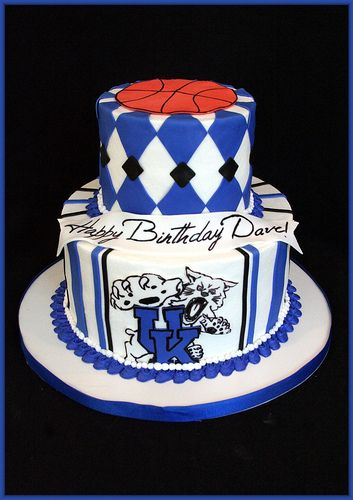 36 best Kentucky Wildcats Cakes images on Pinterest Kentucky