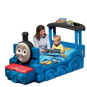tyler would just LOVE this...I don't even think he would sleep he would be so excited! Thomas & Friends™ Toddler Bed