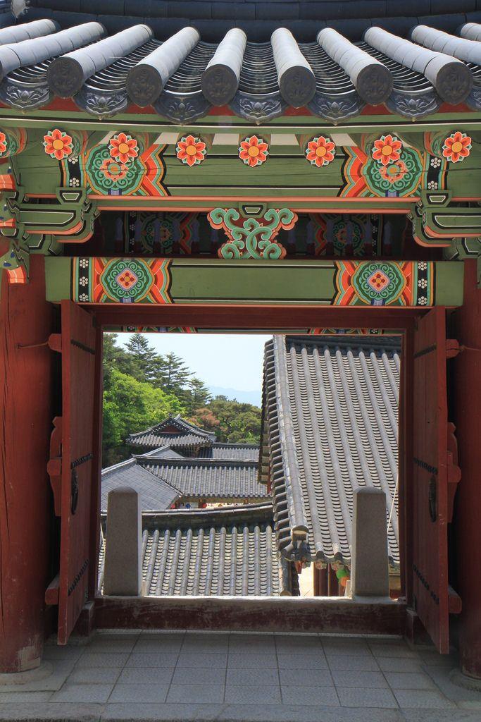 Le temple #Bulguksa à #Gyeongju #Corée du Sud #bouddhisme