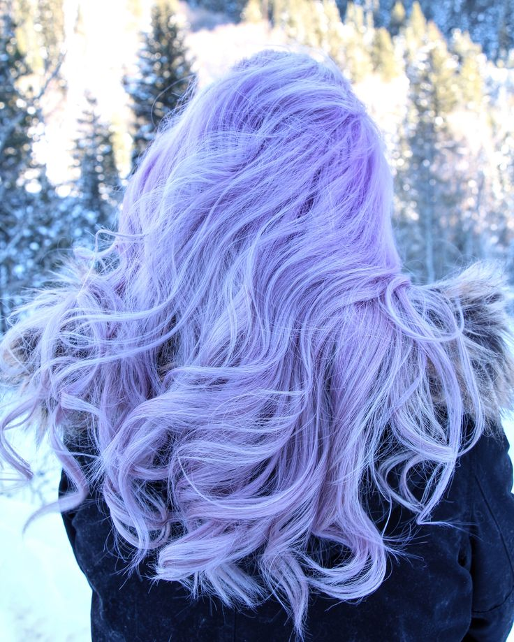 Lavendar hair kamillemonson.com  This will be me soon! ❤