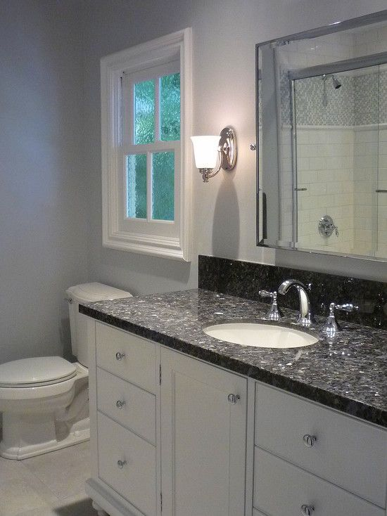 beautiful blue pearl granite sparkly bath ideas