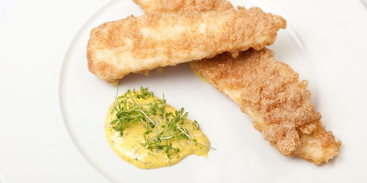 This delicious battered plaice recipe from Galton Blackiston is served with a tasty homemade tartare sauce that compliments the delicate flavour of plaice