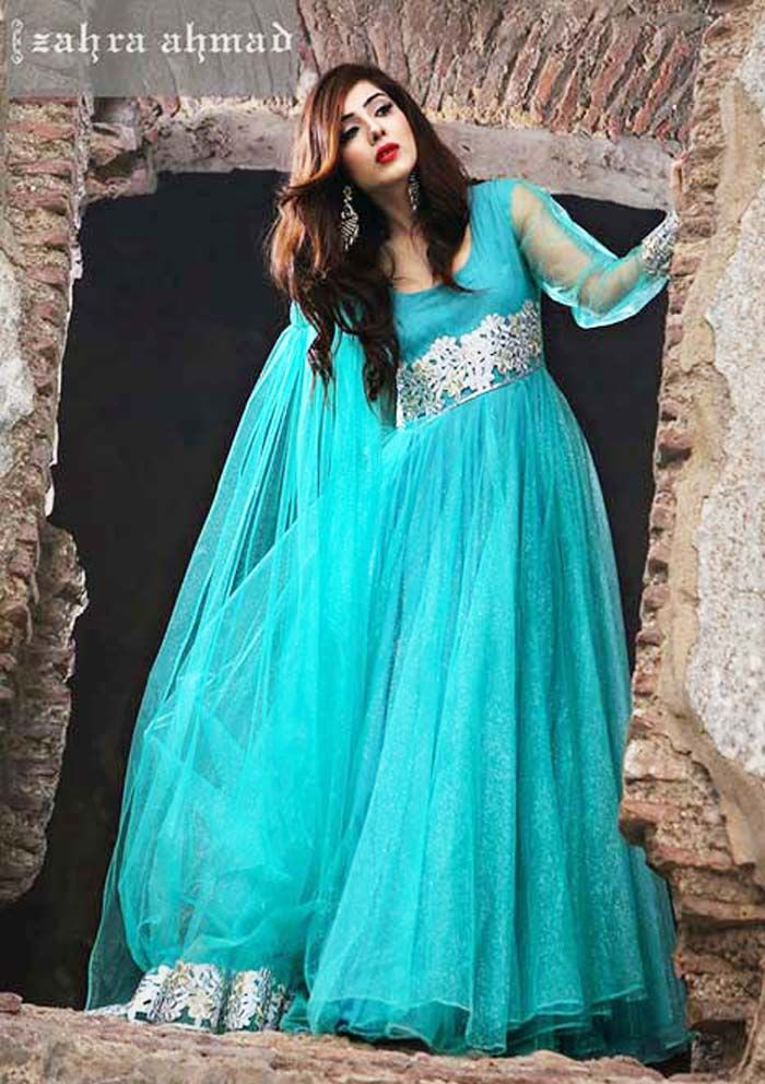 Latest Pakistani and Indian Party Dresses for Women 2017 ...