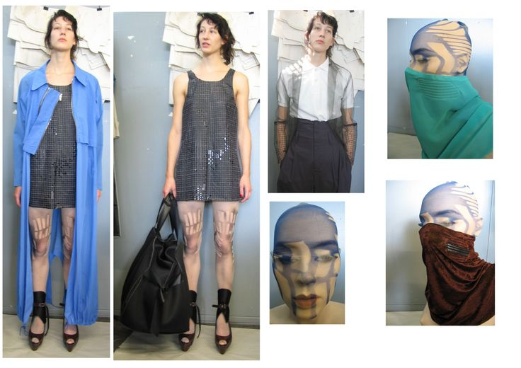 from the archive LENN COX: working on graduation collection 2007 'She's lost control'