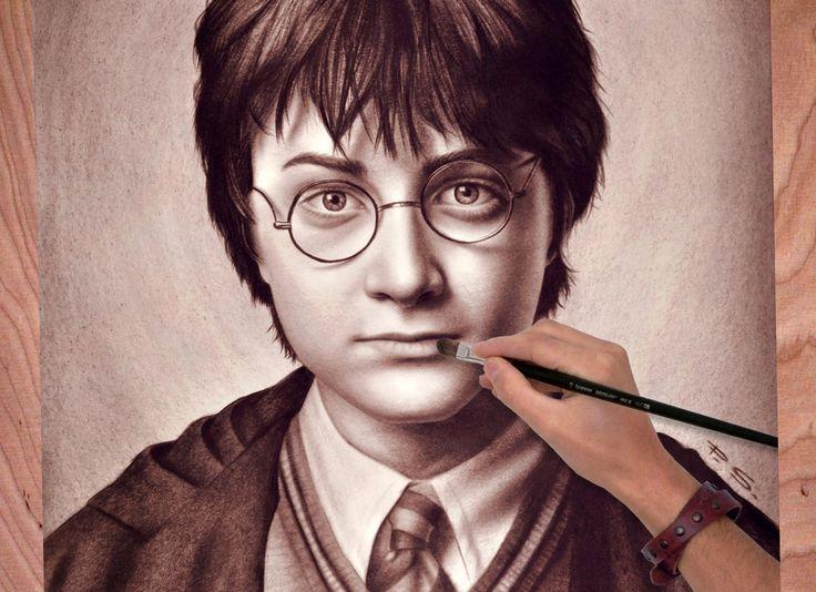 Stefan Pabst, Artiste Peintre Russe Habitant en Allemagne, Crée des Dessins 3D, Véritables Illusions d'Optique. Objets du Quotidien, Animaux, Etres Humains dont Certaines Personnalités (Harry Potter), tout y passe et son Talent est Indéniable.